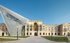 Libeskind museum in Dresden, I was there last summer when it was still under construction!