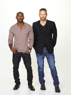 Dolvett Quince & Bob Harper. Best trainers ever on the Biggest Loser.