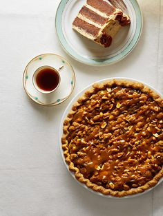 The salted caramel and peanut butter topping on this pie makes this a chocolate dessert no one will forget!
