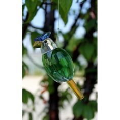 Crystal Bird - Design 5. Our Hanging Crystal Birds are 9 cm high and have approximately 24 cm long metal string.