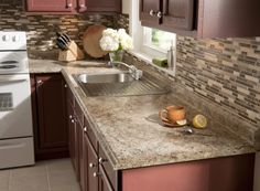 Update your kitchen with a tile backsplash. Learn how to do it yourself!