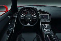 Inside Dash R 8 Audi