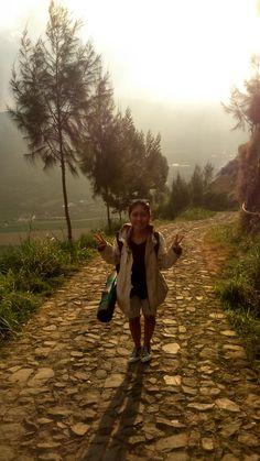 perjalanan menuju gunung prau Dieng :)