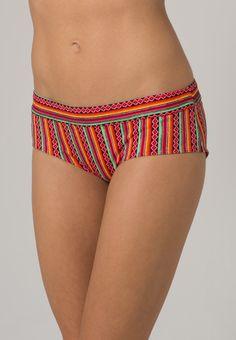 ¡Cómpralo ya!. LingaDore AZTECA Parte de abajo bikini red/multicolor.  , bikini, bikini, biquini, conjuntosdebikinis, twopiece, trisuit. Bikini  de mujer color rojo de Lingadore.