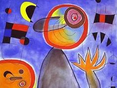 Joan Miro - paintings, biography, and quotes of Joan Miro.