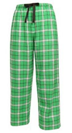 Boxercraft Kelly Green Plaid Flannel Pajama Pant $28 - SHOP http://www.thepajamacompany.com/store/18126.html?category_id=10992