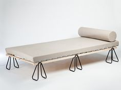 Trestle Bed by Michael Bernard
