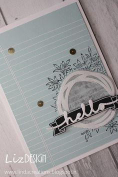 LizDesign Stampin Up Writing Notes Awesomely Artistic Memories in the Making #TGIFC43 Card