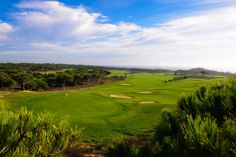 Oitavos Dunes #Golf Course -  Only an hour's drive just north of Lisbon, the five star Praia D'El Rey Marriott Hotel is situated on a low cliff top overlooking miles of sandy beach and the Atlantic Ocean.   At the Marriott Praia D'e Rey resort there are 177 rooms with magnificent views of the Atlantic Ocean and the on-site golf course.