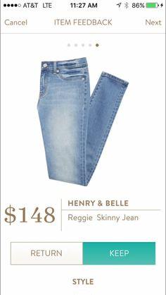 Henry & Belle Skinny Jeans
