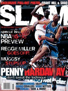 Slam Magazine x Anfernee 'Penny' Hardaway // En la cara de su Majestad !!!!
