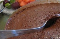 Mousse de Chocolate Diet – Sem Açúcar