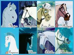 Disney horses are the best :3