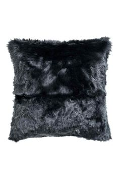 faux fur cushion cover cushion cover in faux fur with a woven cotton back and
