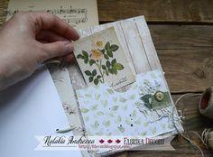 Фабрика декору: Ботаничекий блокнот. Вдохновение от Андреевой Натальи