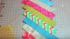 She Places Equal Strips Of Fabric Side By Side And You Will Love What She Does Next! | DIY Joy Projects and Crafts Ideas