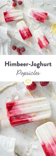 Himbeereis zum Frühstück. Rock 'n' Roll … Zugegeben – nicht gerade der beste Soundtrack, um in den Tag zu starten. Aber so ein Himbeereis zum Frühstück – das hätte doch was, oder? Also nichts wie ran an den Stiel und das Himbeer-Joghurt-Eis vernascht – im Bus, im Zug,… auf deinem Weg zur Arbeit.