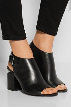Alexander Wang | Nadia leather sandals | NET-A-PORTER.COM