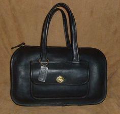 Vtg COACH Precreed NYC Cashin Speedy Dr Satchel Shoulder Bag Rare Purse  60s 70s #Coach #DoctorSatchel