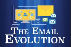 The Email Evolution  - Want to know how email has evolved through time? Take a look!   - sponsored