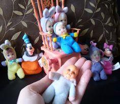 Scrap da Ana Caldatto: Coleção Bonecas Fofoletes, Minuches e Feijãozinho