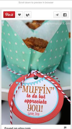 Muffins & coffee gift card
