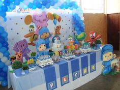 cumpleaños infantiles on Pinterest   Fiestas, Mesas and Bubble Guppies