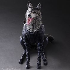Amazon.co.jp | PLAY ARTS改 METAL GEAR SOLID V THE PHANTOM PAIN D-DOG PVC製 塗装済み可動フィギュア | ホビー 通販