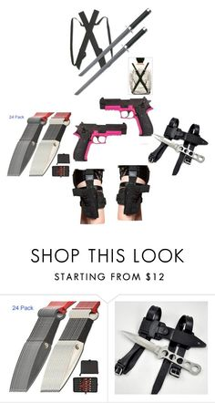 """""""Z Nation Weapons"""" by popey3 ❤ liked on Polyvore featuring Holster"""