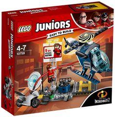 LEGO Juniors Disney Incredibles 2 Elastigirl's Rooftop Pursuit 10759 Lego Juniors, Lego Junior Sets, Lego Sets, Legos, Lego Elves, Construction Lego, Disney Incredibles, Lego Knights, Satellite Dish