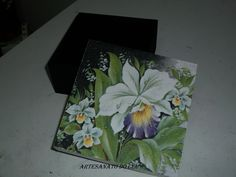Caixa Orquídea