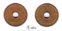 37/1962 Japan 5 Yen  Shōwa Era (Y#72a) RARE WORLD #COINS http://etsy.me/1Aph419 @Etsy