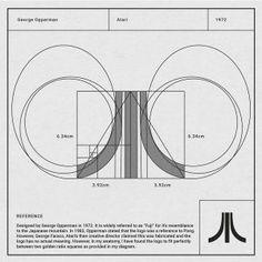 Anatomía de un logo 🥇 Mira cómo se crearon ▷ ESTAS 38 MARCAS ◁ Logo Guidelines, Architecture Logo, Logo Creation, Typographic Logo, Graphic Wallpaper, Geometric Logo, Grafik Design, Corporate Design, Design Thinking