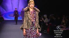 ANNA SUI: MERCEDES-BENZ FASHION WEEK Fall 2014 COLLECTIONS | MBFW