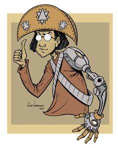 Cabra Nerd_Mascot, José Veríssimo on ArtStation at https://www.artstation.com/artwork/256nJ