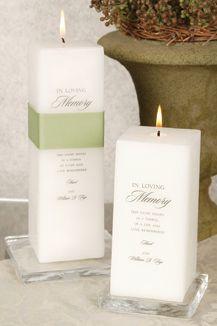 Memorial Candle display at the wedding | Barn Wedding | Pinterest ...