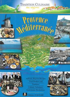 Provence Mediterranee Authentic Regional Recipes Hardcover by TranscaspianUral on Etsy