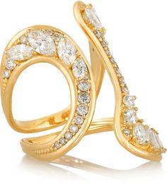 Fernando Jorge Stream 18-karat gold #diamond ring