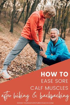 No matter how much you love hiking in the outdoors, sore calves are never fun. We all know it's important to stretch and take breaks as you go, but what about after your hiking trip? When your day is done, here are some ways that can treat those achy muscles with ease! Check out these tips on treating your sore calf muscles after a hike. Backpacking Tips, Hiking Tips, Calf Muscles, Sore Muscles, Sore Calves, Soleus Muscle, Gastrocnemius Muscle, Calf Pain