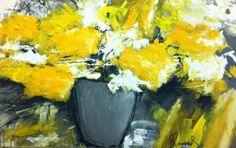 Galerie des oeuvres florales de l'artiste peintre Doris Savard