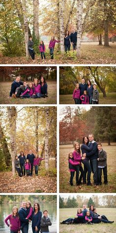 Fall Family Portraits / Pose ideas for family of 5 / Robinwood Photography. More on the blog! http://robinwoodstudios.blogspot.com/2015/11/fall-family-portraits-oregon-city-on.html