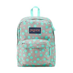 JanSport SuperBreak Backpack ($30) ❤ liked on Polyvore featuring bags, backpacks, grey, school & day hiking backpacks, padded bag, jansport bags, jansport daypack, rucksack bag and padded backpack