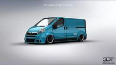 3D tuner app rendering of modified vivaro