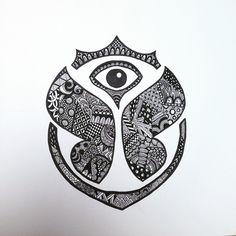 imagen de logo de tomorrowland