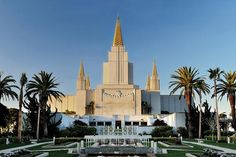 Oakland LDS temple. LDS are also known as Mormons or The Church Of Jesus Christ of Latter-day Saints