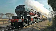 Steam Trains at Speed