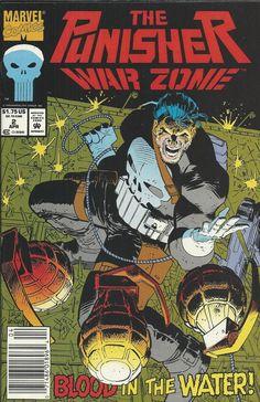 Marvel Punisher War Zone comic issue 2