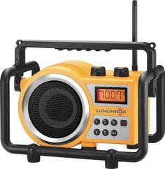The Sangean LB-100 Compact AM/FM Ultra Rugged Radio Receiver includes leading-edge features offers best-inclass reception, durability, Rain/Dust/Shock Resistant, superior sound quality and convenience. It makes this radio suitable for both in and outdoor work not to mention its simple operation and made for tradesman who enjoys their music while at a job-site.