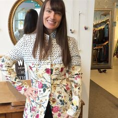 Get excited! The shop's are filling up every day with great new pieces for Spring! (-: #springfashion #springiscoming #springisintheair #ottcity #ottawalife #fashionforall #madeincanada #canadianfashion #canadianmade #canadiandesigner #jacket #print #pattern #theeverygirl #pursuepretty #styleblogger #mode