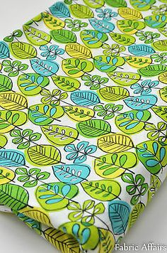 Pure Cotton Fabric Retro Spring Summer Green Leaves Foilage for sale online Green Leaves, Cotton Fabric, Spring Summer, Retro, Squares, Ebay, Scrappy Quilts, Bobs, Neo Traditional